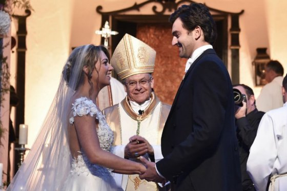 Se casó María Antonia, la hija del presidente Santos