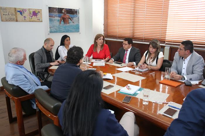 Se reunió el Comité Organizador de los Bolivarianos Santa Marta 2017