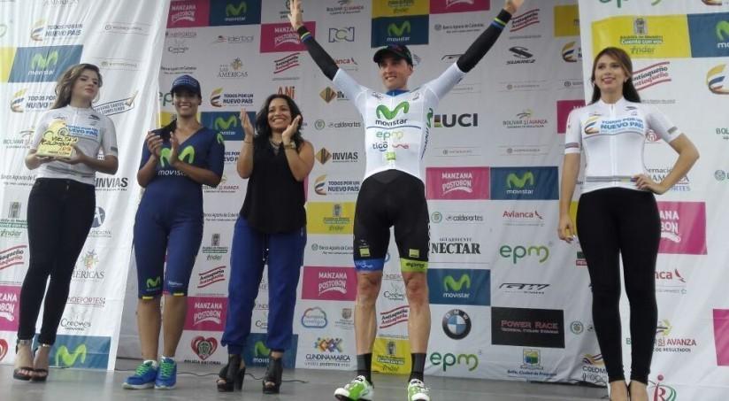 Sevilla es el primer líder de la Vuelta a Colombia