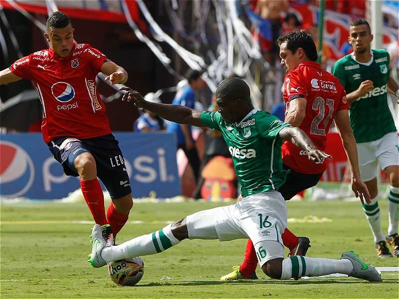 Triunfo 2-0 de Independiente Medellín sobre Deportivo Cali