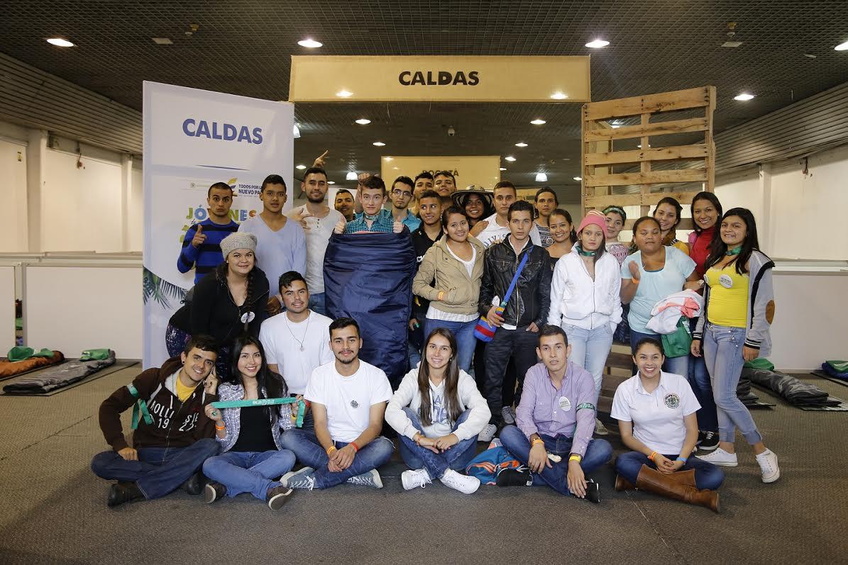 VII Encuentro Nacional de Jóvenes de Ambiente-Representantes de Caldas