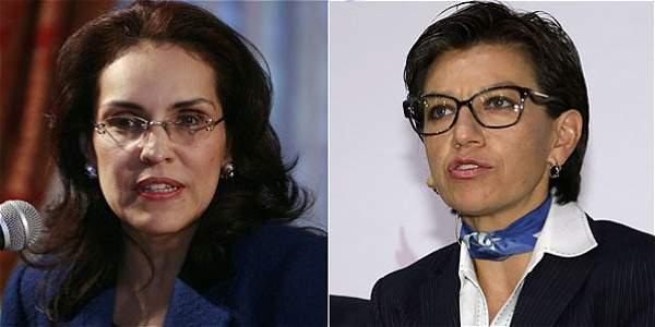 Viviane Morales y Claudia López