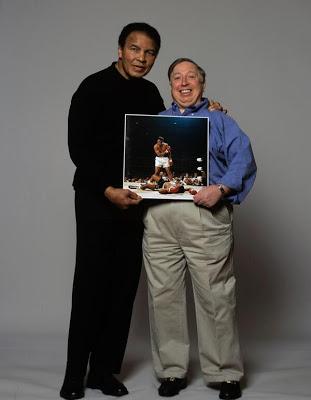 Con Neil Leifer. Foto: Washington Post