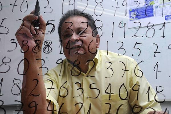 El fantástico universo de los números, que el calculista santandereano viene cultivando y cosechando desde niño. Foto: emaze.com