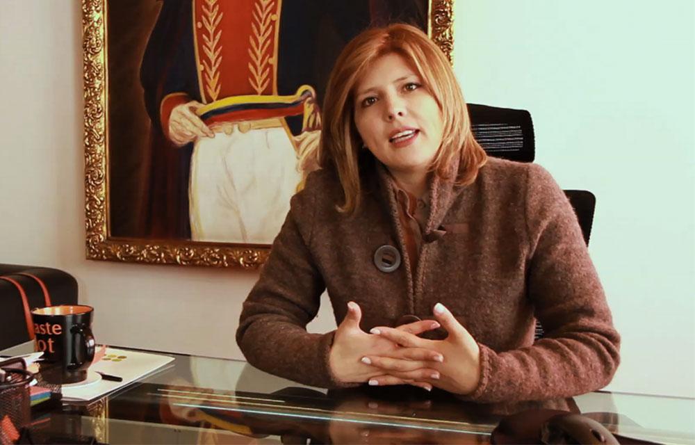 Directora de la Defensa Jurídica del Estado, Adriana Guillén