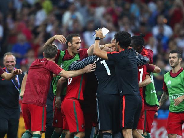 El conjunto luso sigue sin ganar en los 90 minutos y debió sufrir la tanda desde los 12 pasos, para meterse entre los cuatro mejores de la Eurocopa.