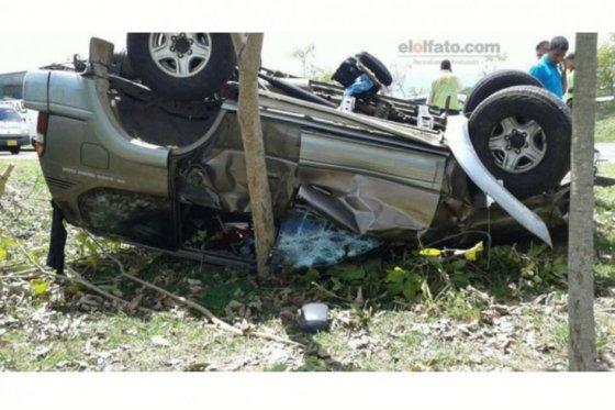 Accidente donde Murió Juan Mario Laserna
