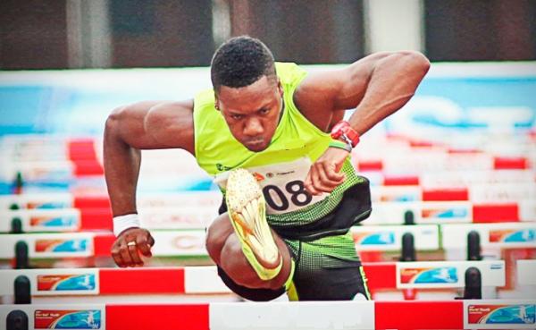 Yeison Rivas, clasificado a Río 2016 en los 110 m vallas.