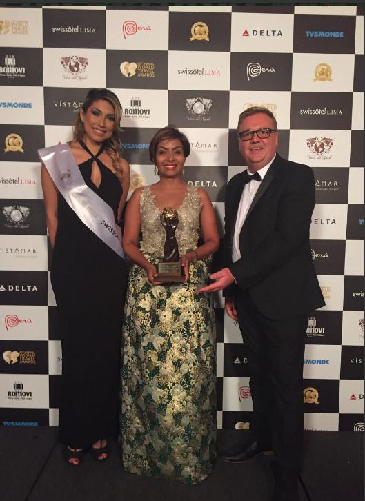 Cartagena recibio el World Travel Award, considerado el Premio Óscar del Turismo Mundial.