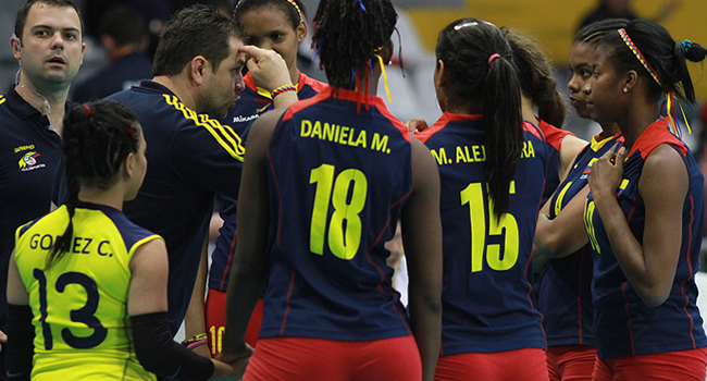 Colombia Voleibol Femenino