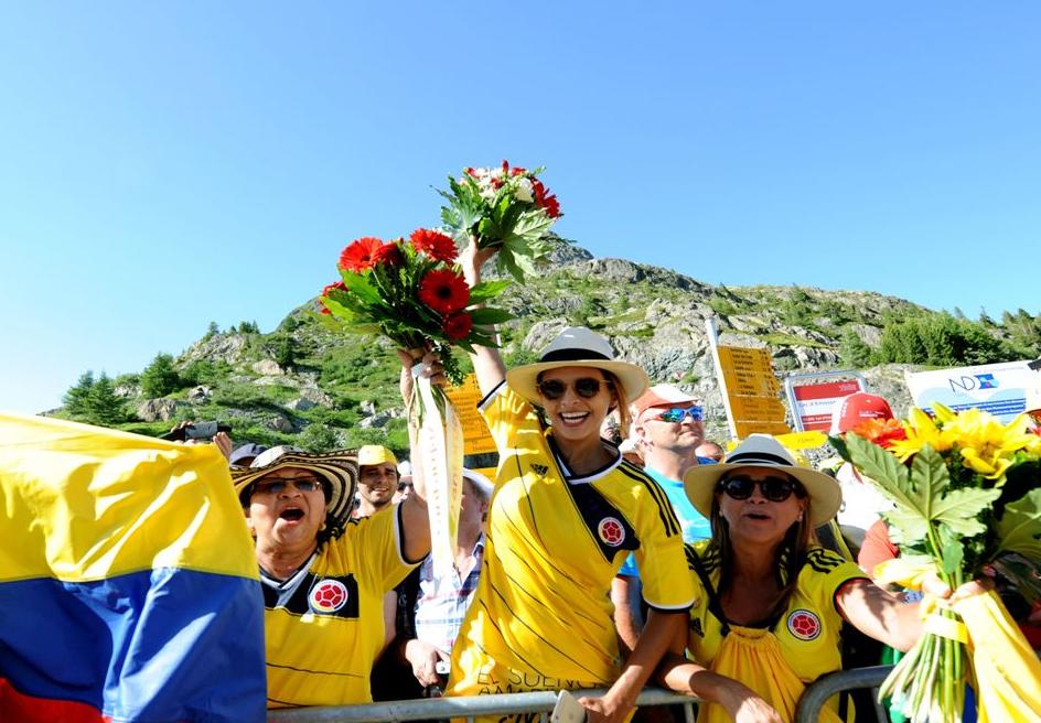 Colombia el 20 de Julio en el Tour