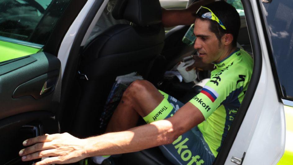 Contador se fue del Tour