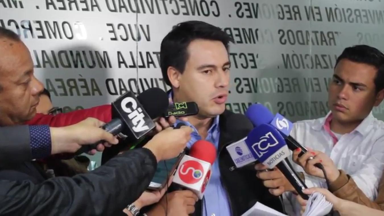 Declaraciones del Ministro de Transporte, Jorge Eduardo Rojas Giraldo, quien revela detalles de propuesta de acuerdo entregada este lunes a transportadores de carga.