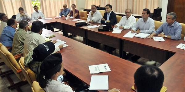 Delegados de Gobierno y FARC
