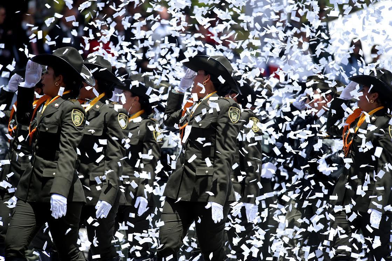 Desfile Militar 20 de julio La Paz es la Victoria.12