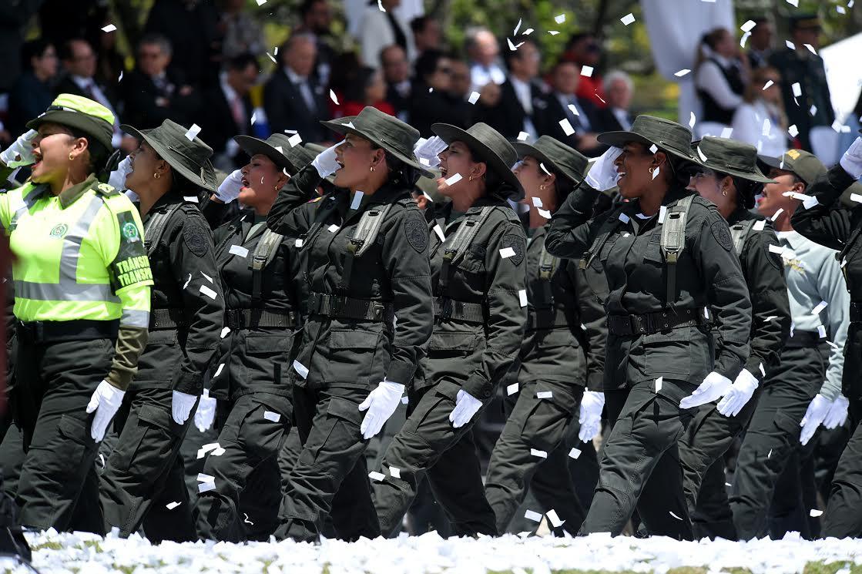 Desfile Militar 20 de julio La Paz es la Victoria.13