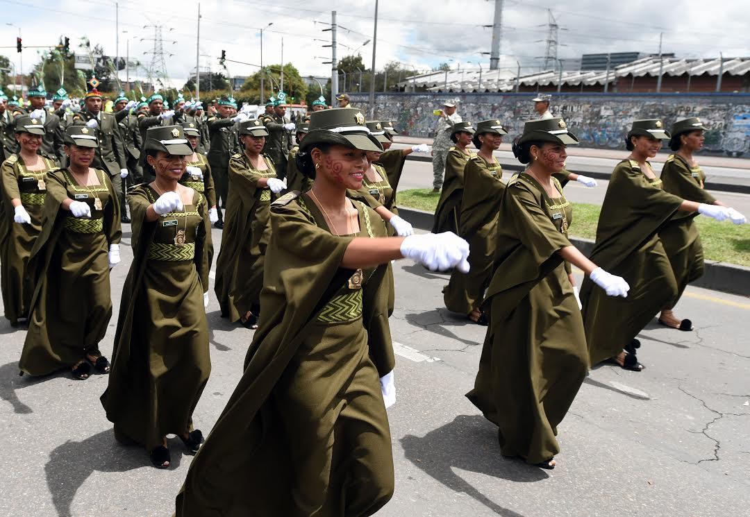 Desfile Militar 20 de julio La Paz es la Victoria.22