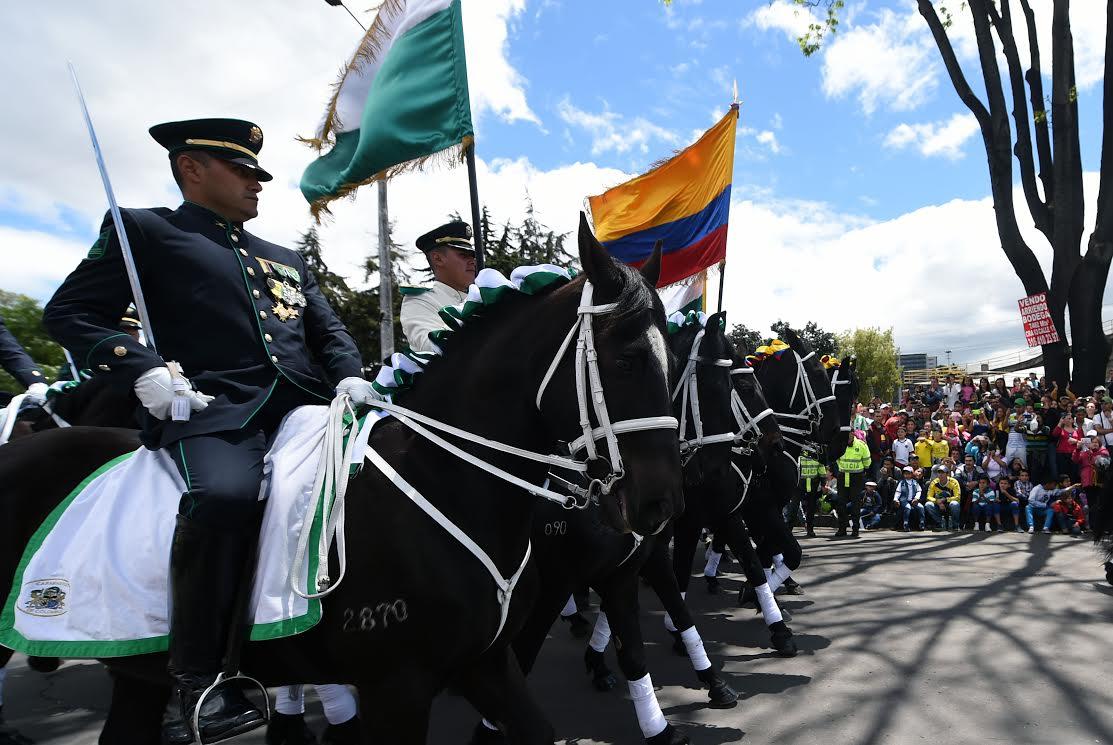 Desfile Militar 20 de julio La Paz es la Victoria.27