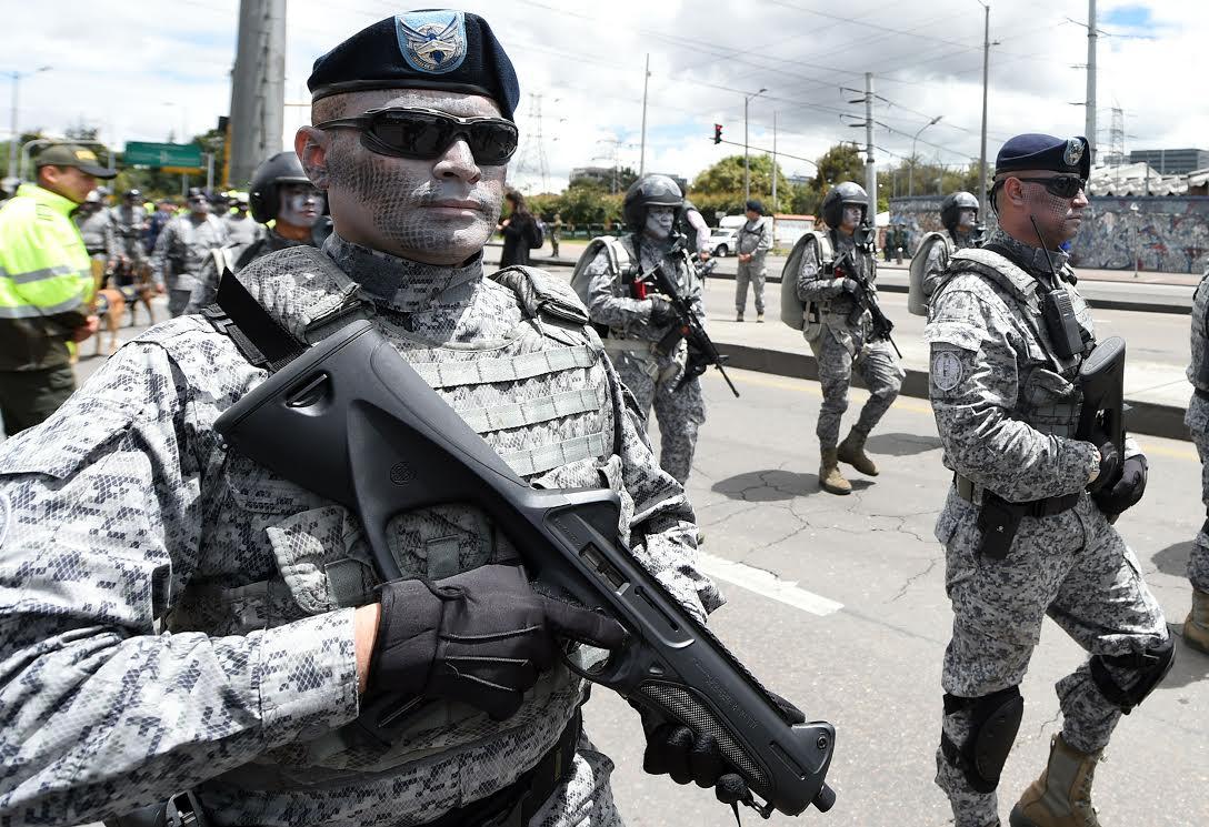 Desfile Militar 20 de julio La Paz es la Victoria.31