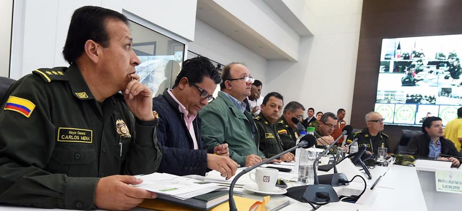 En el día 41 del paro camionero, el ministro de Defensa, Luis Carlos Villegas