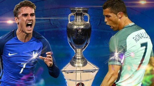 Francia vs Portugal: se miden por la gran final de la Eurocopa 2016. (Diseño: El Comercio)