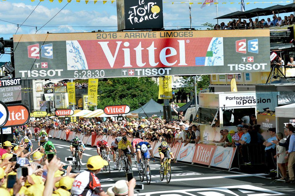 Tour de France 2016 - 05/07/2016 - Etape 4 - Saumur/ Limoges (237.5 km) - Arrivée au sprint