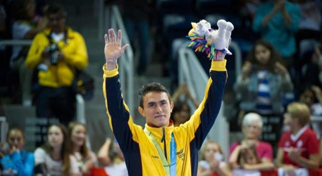 El gimnasta cucuteño fue el elegido tras una votación del Comité Olímpico Colombiano y su patrocinador