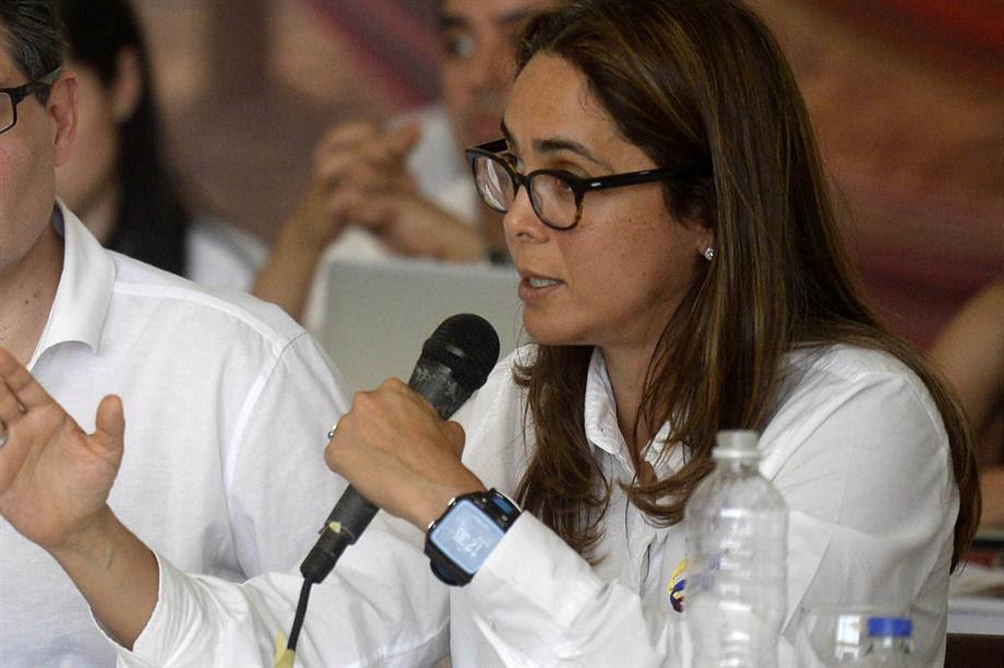 Ministra de Educación, Gina Parody en la Guajira