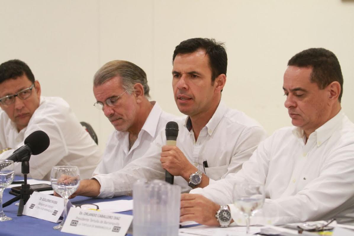 Ministro del Interior (e) Guillermo Rivera en Barranquilla4