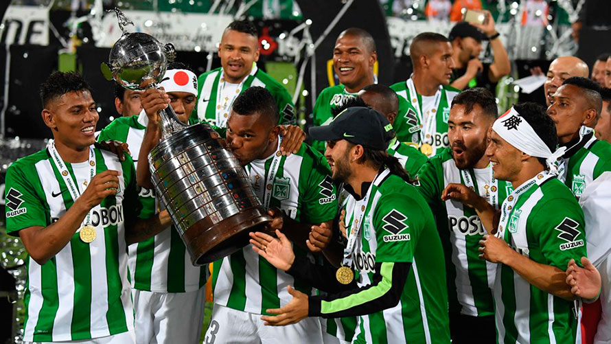 Nacional Campeón de La Libertadores
