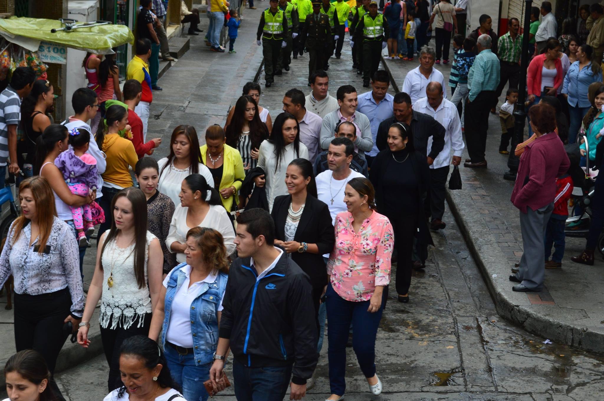 Neira Caldas celebra el 200716J