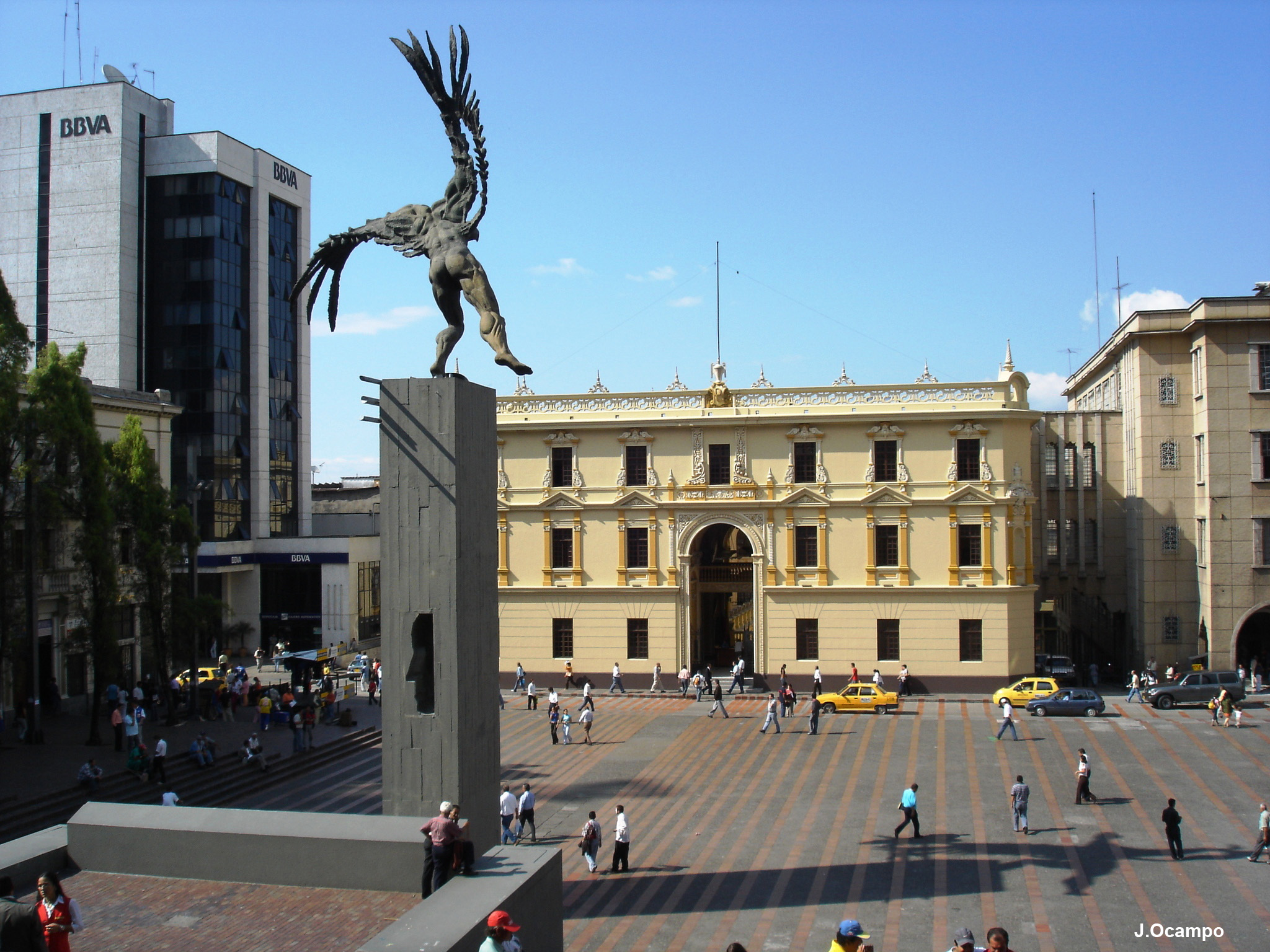 Plaza de Bolivar de Manizales