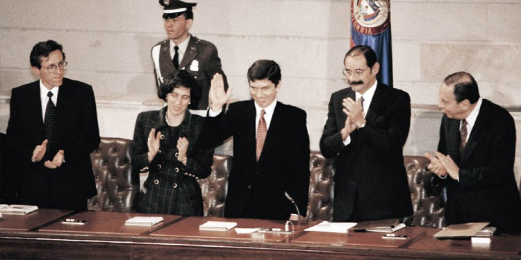 Promulgación de la Constitución Política de Colombia de 1991