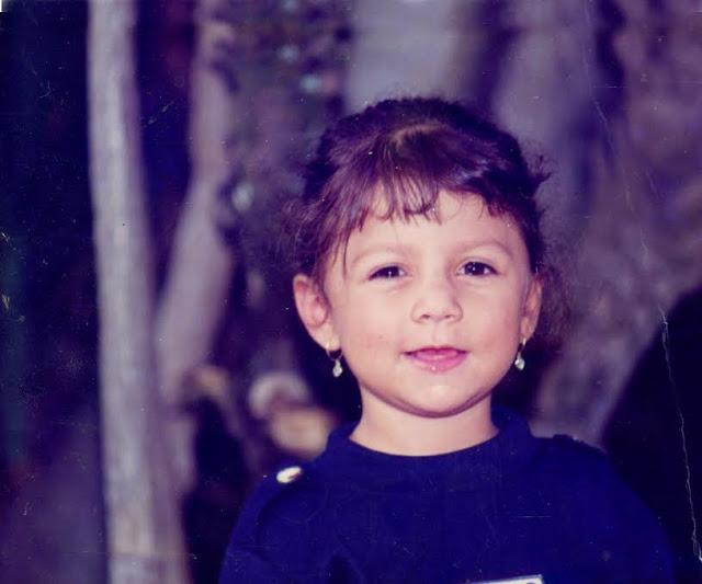 La pequeña María Carolina, hija de Rodrigo Silva, fallecida a los cinco años en un absurdo accidente casero. Foto: Archivo particular