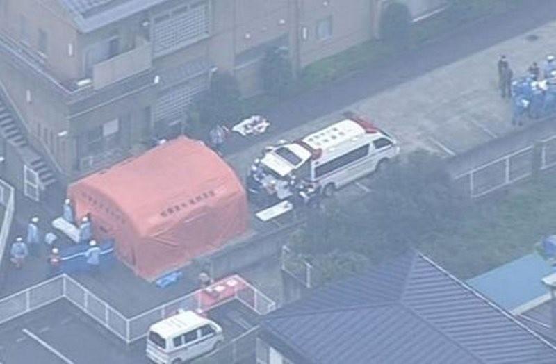 ataque con cuchillo en Japón250716