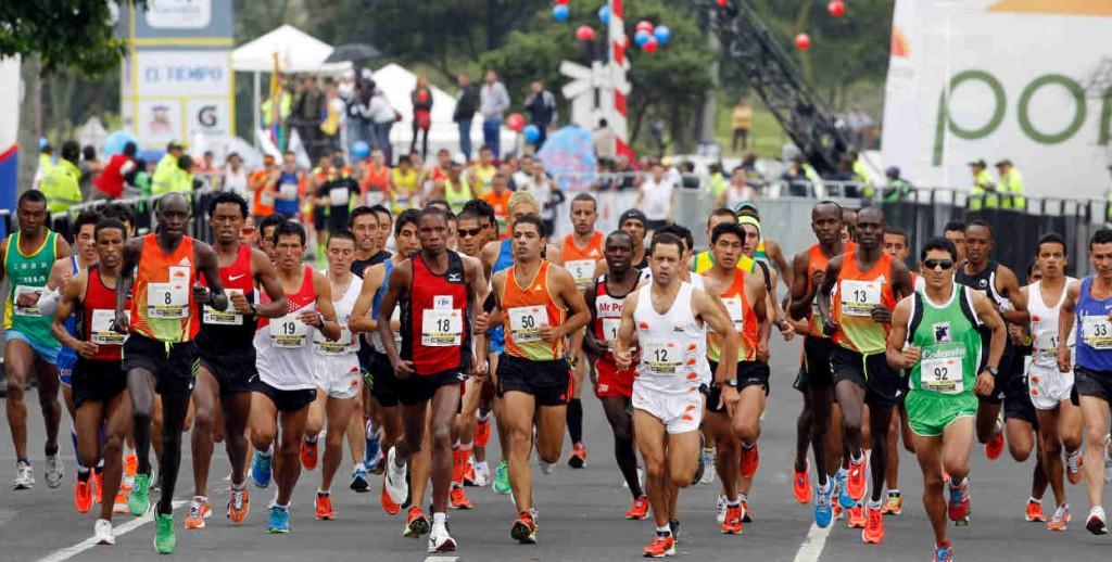 figuras mundiales a la Media Maratón de Bogotá