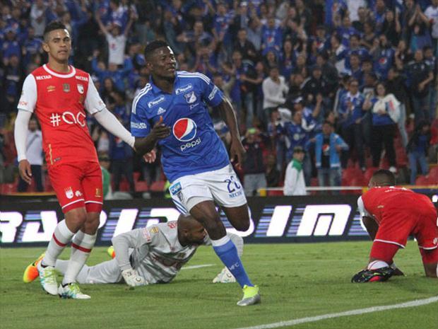 El equipo rojo de Bogotá sigue sin saber lo que es ganarle a su rival de patio desde hace dos años.