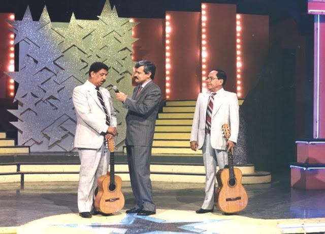 Infaltables en 'Embajadores de la música colombiana', con Jorge Barón. Foto: Archivo particular