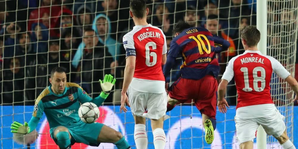 Atajada de David Ospina a Messi, nominada a la mejor en Europa