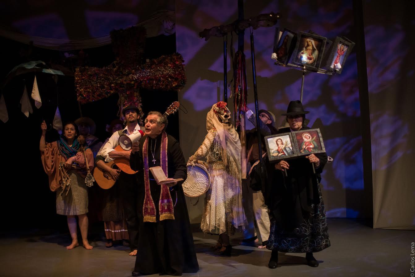 'Camilo', obra basada en la vida de Camilo Torres el sacerdote, abrirá este 2 de septiembre en el Teatro Los Fundadores uno de los eventos más importantes del mundo.