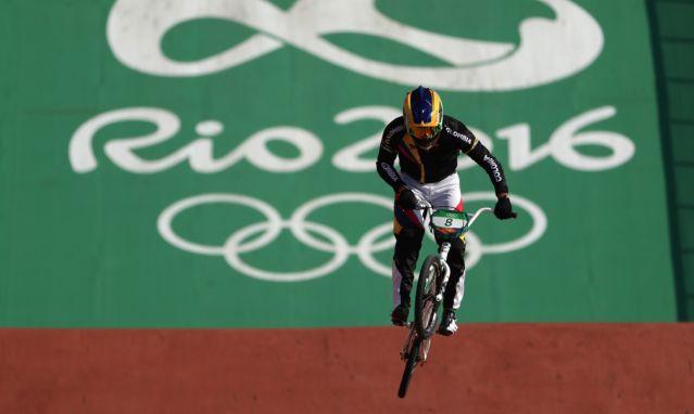 Carlos Ramírez gana bronce en BMX y da la octava medalla a Colombia