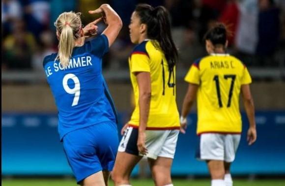 Colombia perdió 4-0 con Francia 01