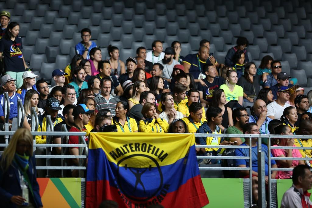 Colombianos en Río