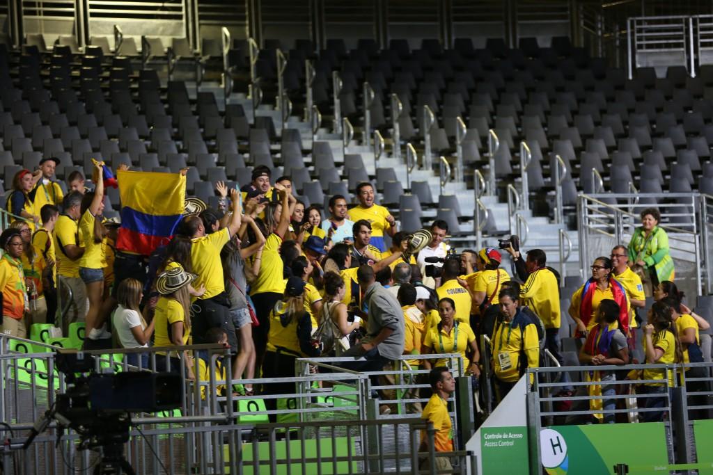 Colombianos en Río2