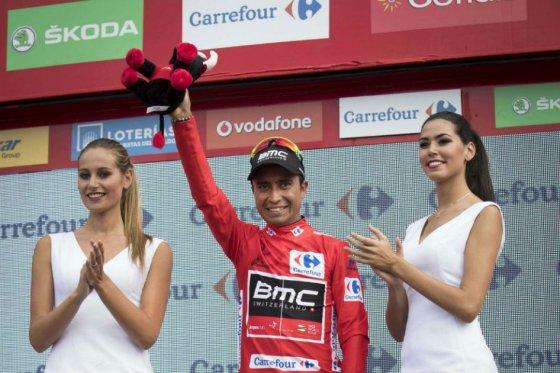 Darwin Atapuma se mantiene como líder de la Vuelta a España