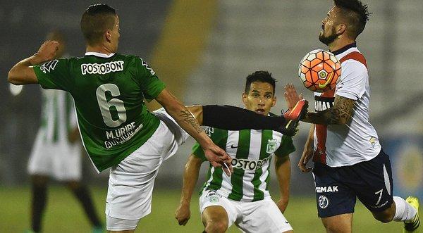 Deportivo Municipal 0-5 Atlético Nacional - Copa Sudamericana