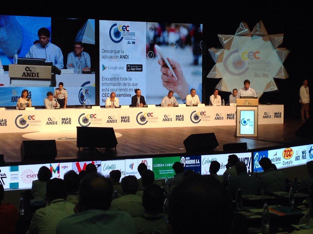 Discurso Bruce Mac Master en Congreso Empresarial Colombiano - Asamblea ANDI 2016