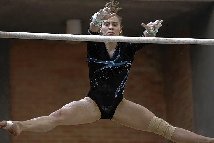 En el centro de alto rendimiento se disputaron dos cupos para el preolímpico de gimnasia artística en Río de Janeiro