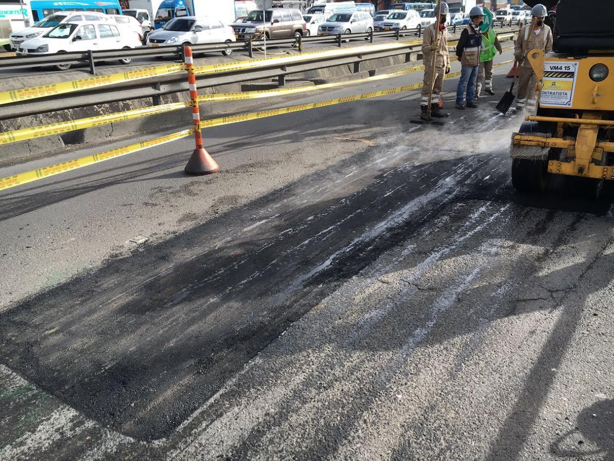 En tres meses se taparán todos los huecos de la avenida Boyacá2