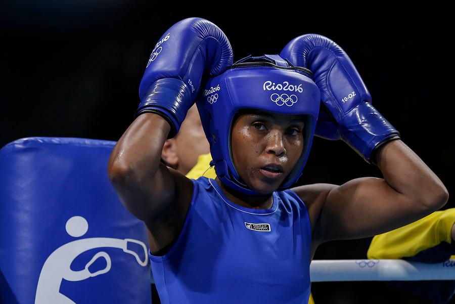 Ingrit Valencia aseguró medalla en boxeo